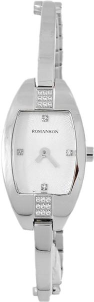 Женские часы в коллекции Giselle Женские часы Romanson RM7A03QLW(WH) фото