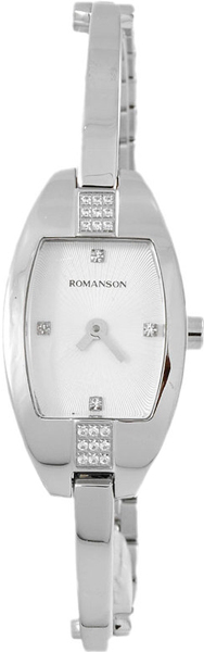 Женские часы Romanson RM7A03QLW(WH) romanson rm 6a31c lw wh