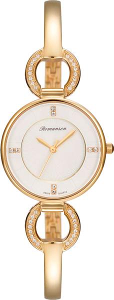 Женские часы Romanson RM7A04QLG(WH) romanson rm 6a31c lw wh