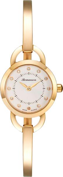 Женские часы Romanson RM7A06LLG(WH) romanson rm 6a31c lw wh
