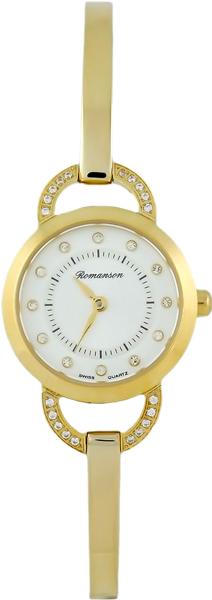 Женские часы Romanson RM7A06QLG(WH) romanson rm 6a31c lw wh