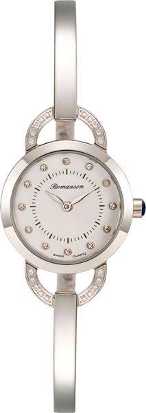 Женские часы Romanson RM7A06QLW(WH) romanson rm 6a31c lw wh