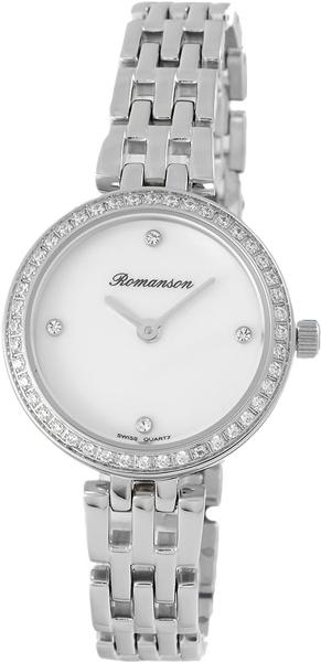 Женские часы Romanson RM7A07QLW(WH)
