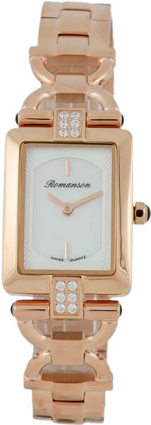 Женские часы Romanson RM7A17QLR(WH) romanson rm 6a31c lw wh