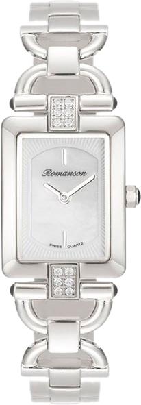 цена Женские часы Romanson RM7A17QLW(WH) онлайн в 2017 году