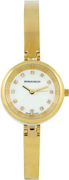 Женские часы Romanson RM7A21LLG(WH) romanson rm 6a31c lw wh