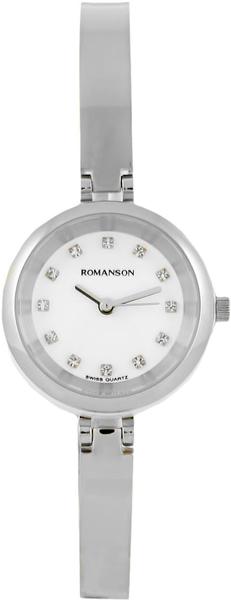 Женские часы Romanson RM7A21LLW(WH) romanson rm 6a31c lw wh
