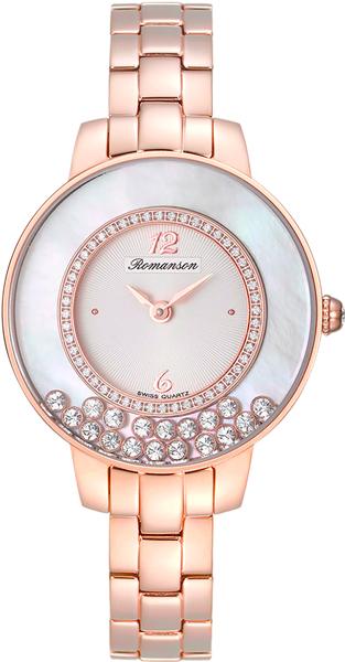 Женские часы Romanson RM7A30QLR(WH)