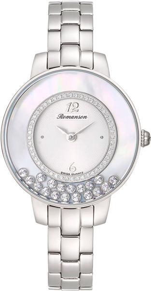 Женские часы Romanson RM7A30QLW(WH)