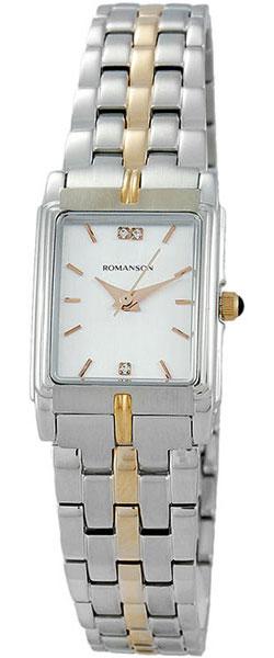 Женские часы Romanson TM8154CLJ(WH) romanson tm 9248 mj wh