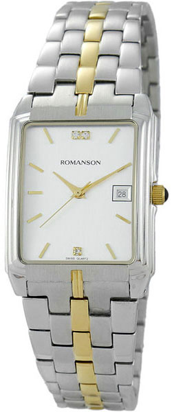 Мужские часы в коллекции Adel Мужские часы Romanson TM8154CMC(WH) фото