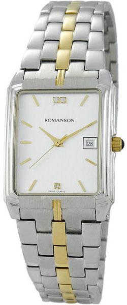 Мужские часы Romanson TM8154CMC(WH) romanson tm 9248 mj wh