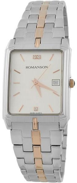 Мужские часы Romanson TM8154CMJ(WH) romanson tm 9248 mj wh