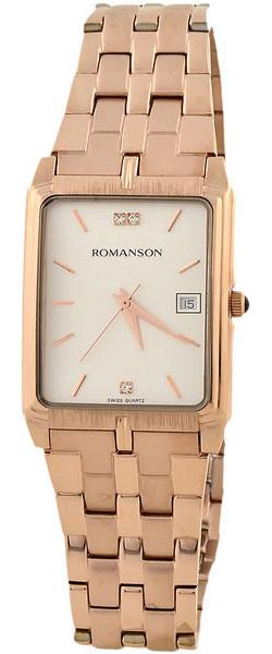 Мужские часы Romanson TM8154CMR(WH) romanson tm 9248 mj wh
