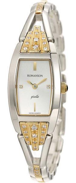 Женские часы Romanson RM8272QLC(WH) romanson rm 6a31c lw wh