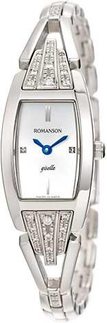 Женские часы Romanson RM8272QLW(WH) romanson rm 6a31c lw wh