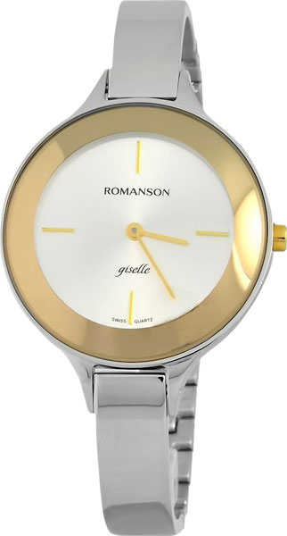Женские часы Romanson RM8276LC(WH) romanson rn 0356 lc wh