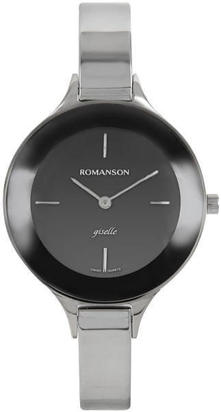 Женские часы Romanson RM8276LW(BK) romanson rm 7a16q lw wh