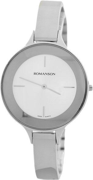 Женские часы Romanson RM8276LW(WH) romanson rm 7a16q lw wh