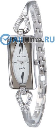 Женские часы Romanson RM8902QLW(WH) romanson часы romanson rm5113qlc wh коллекция giselle