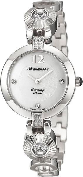 Женские часы Romanson RM8A05QLW(WH)