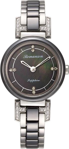 Женские часы Romanson RM8A10QLW(BK)