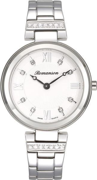 Женские часы Romanson RM8A15QLW(WH)