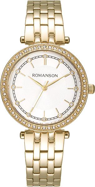 Женские часы Romanson RM8A17TLG(WH)