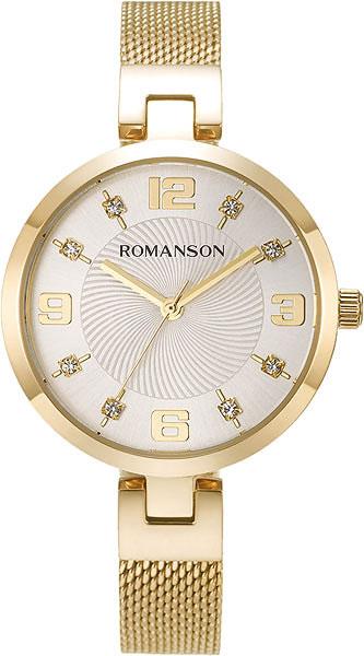 Женские часы Romanson RM8A18LLG(WH)