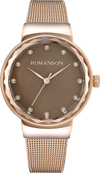лучшая цена Женские часы Romanson RM8A24LLR(BR)