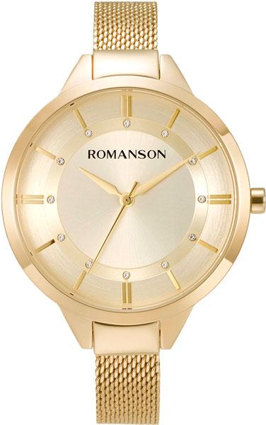 Женские часы Romanson RM8A28LLG(GD) женские часы romanson rm9a23llg gd
