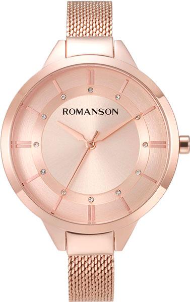 Женские часы Romanson RM8A28LLR(RG) romanson tl 4118j mj rg