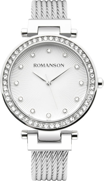 Женские часы Romanson RM8A31TLW(WH) женские часы romanson tm8a42llw wh