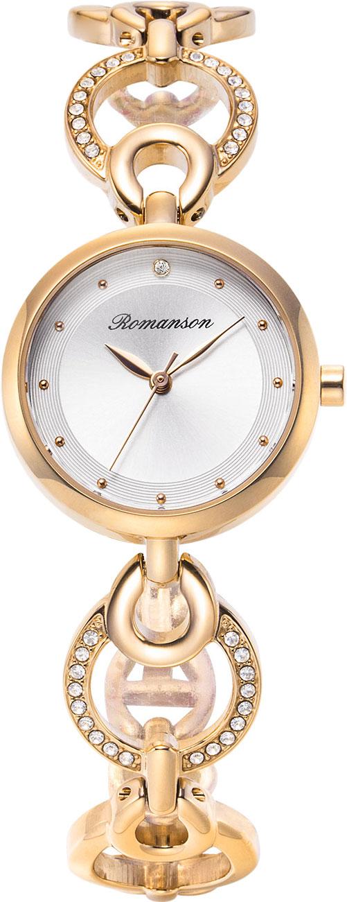 Женские часы Romanson RM8A32TLG(WH)
