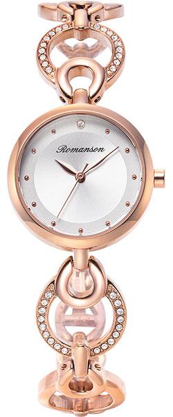 Женские часы romanson rm8a32tlr(wh)
