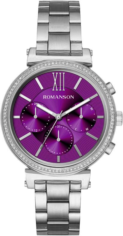 Женские часы Romanson RM8A38FLW(WINE)