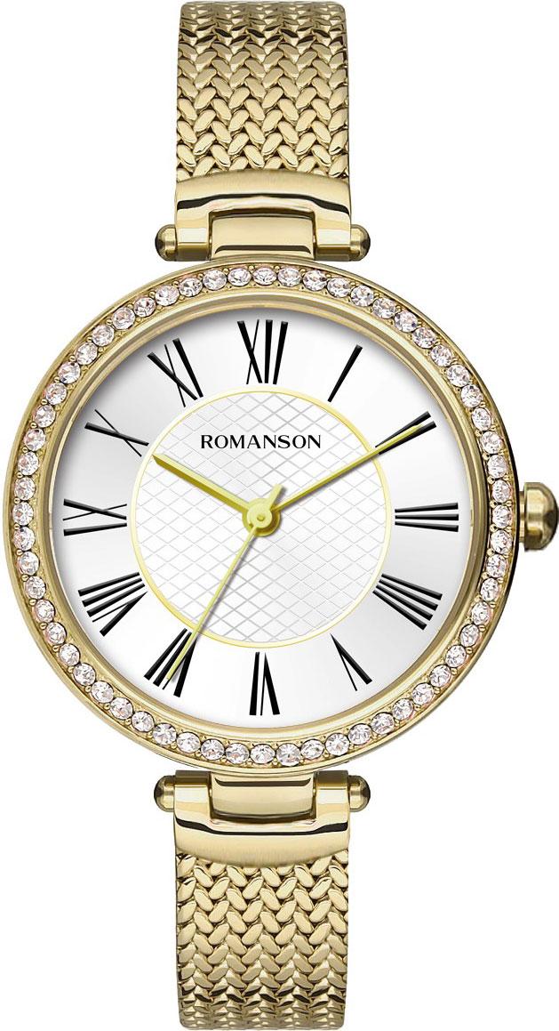 Женские часы Romanson RM8A41TLG(WH)