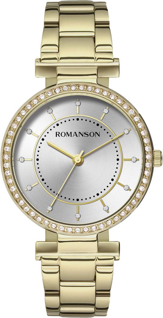 Женские часы Romanson RM8A44TLG(WH) все цены