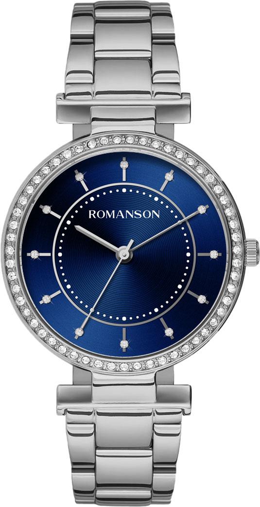 Женские часы Romanson RM8A44TLW(BU) цена и фото