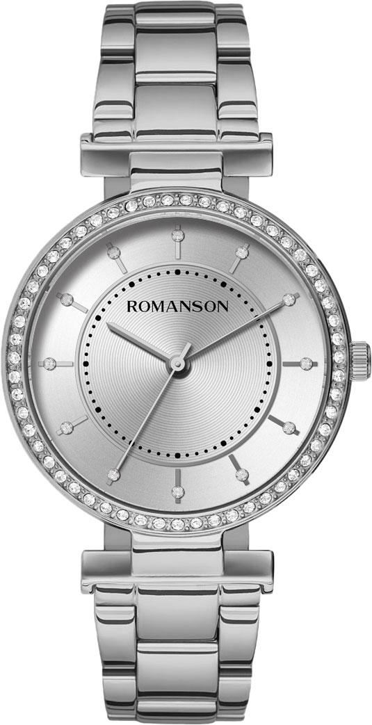 лучшая цена Женские часы Romanson RM8A44TLW(WH)