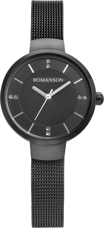 Женские часы Romanson RM8A46LLB(BK)