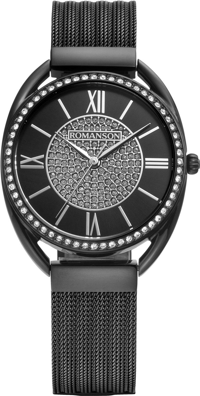 Женские часы Romanson RM8A47TLB(BK)