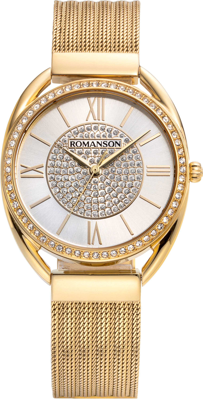 Женские часы Romanson RM8A47TLG(WH)