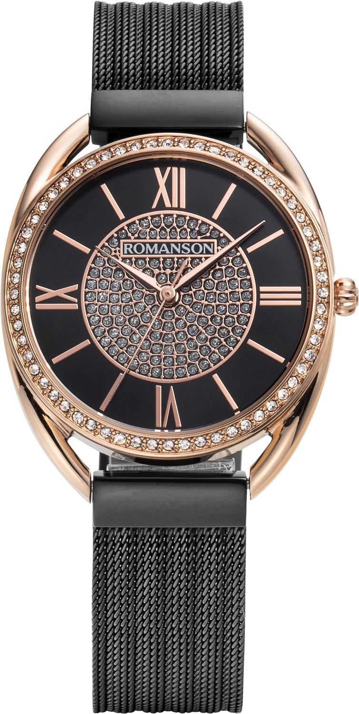Женские часы Romanson RM8A47TLR(BK)