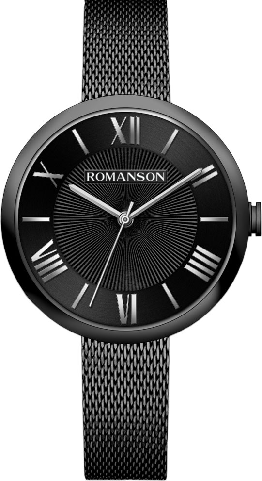 Женские часы Romanson RM8A48LLB(BK) цена и фото