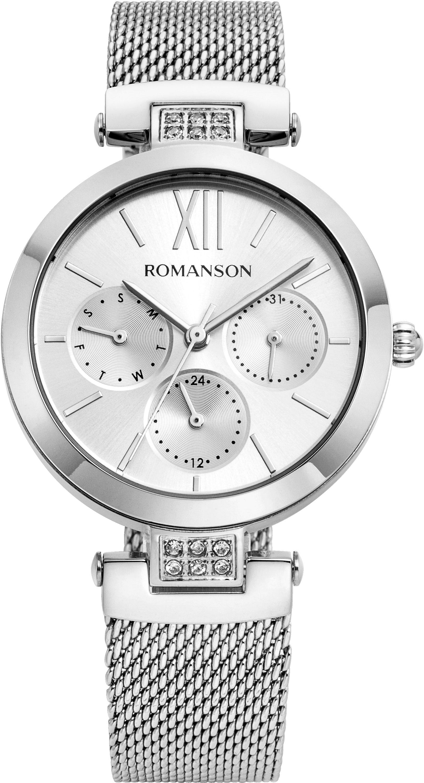 Женские часы Romanson RM8A50FLW(WH)
