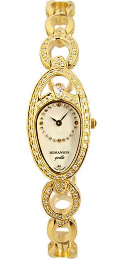 Женские часы Romanson RM9207QLG(WH) romanson rm 6a31c lw wh