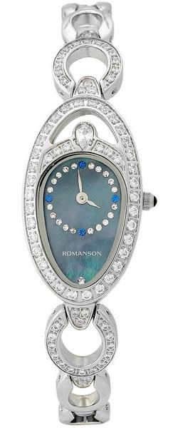 Женские часы Romanson RM9207QLW(BK) romanson rm 6a31c lw wh