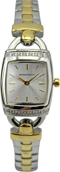 Женские часы Romanson RM9237QLC(WH) romanson rm 6a31c lw wh