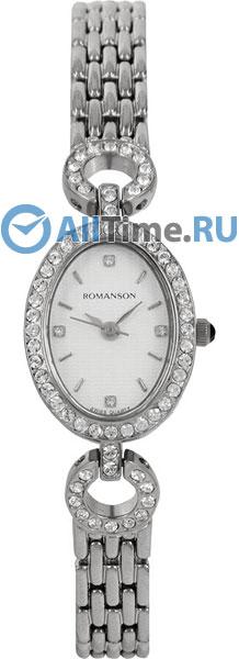 Женские часы Romanson RM9790QLW(WH) romanson rm 6a31c lw wh